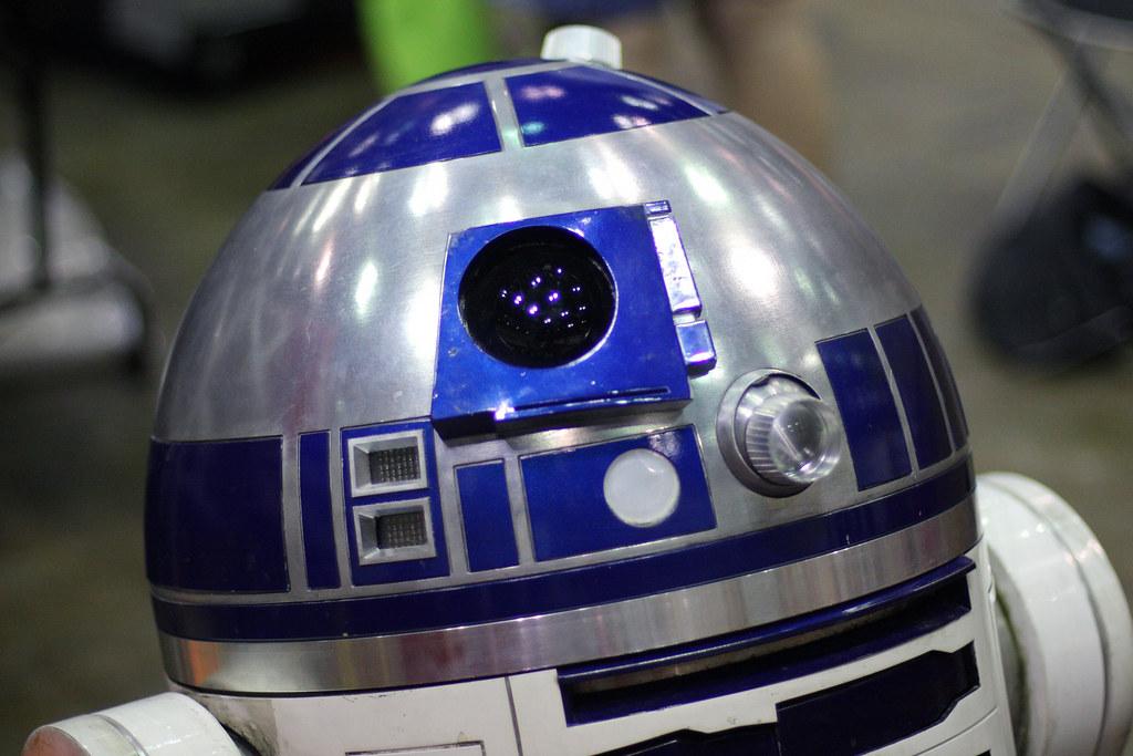 A Close Up Of R2 D2 A Closer Shot Of R2 D2 Model Found