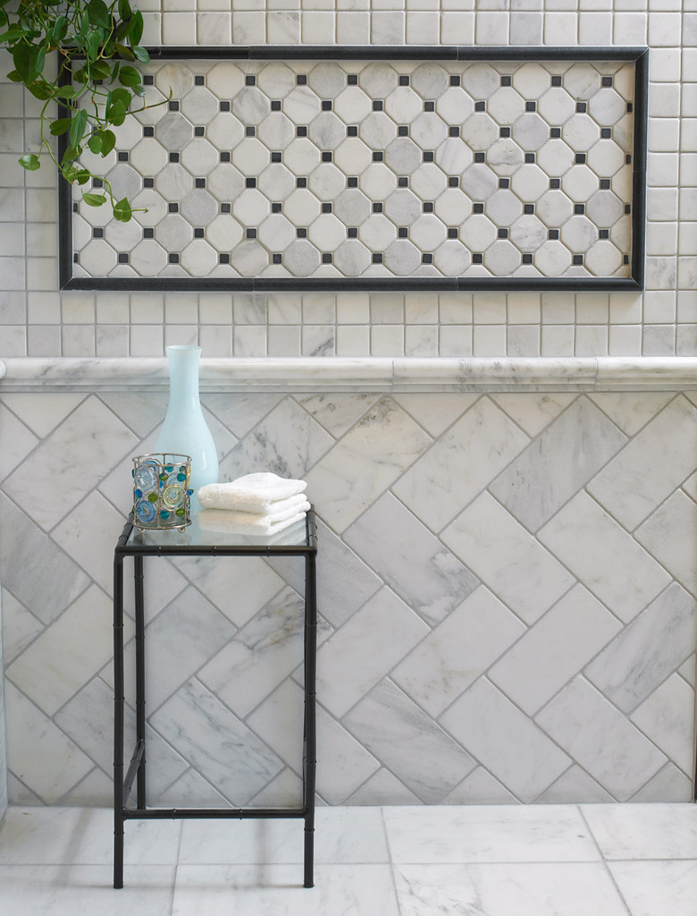 Arizona Tile Marble Manhattan Tumbled Cordoba Pattern 2 Flickr