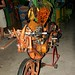 Funky Folk Art Motorcycle