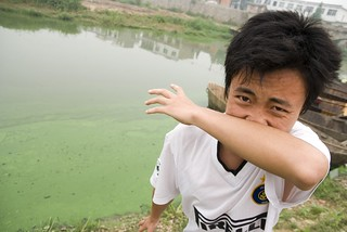 Man at Chao Lake, China | by eutrophication&hypoxia