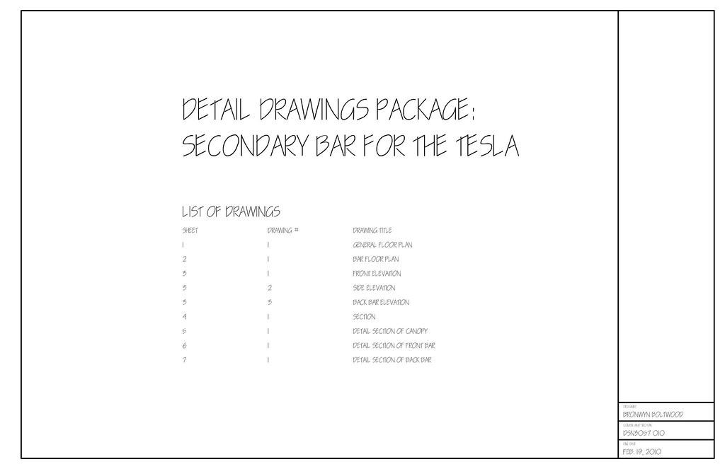 tesla secondary bar details flickr