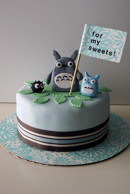 My Neighbor Totoro Cake Www Cococake Com Www