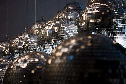 Mirror Balls - Brian Eno Speaker Flowers Sound Installation at Marlborough House