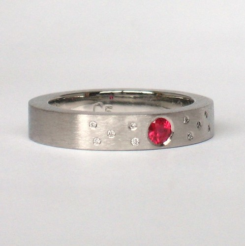 Constellation Ruby Band | by Sulusso | Sustainable Jewelry