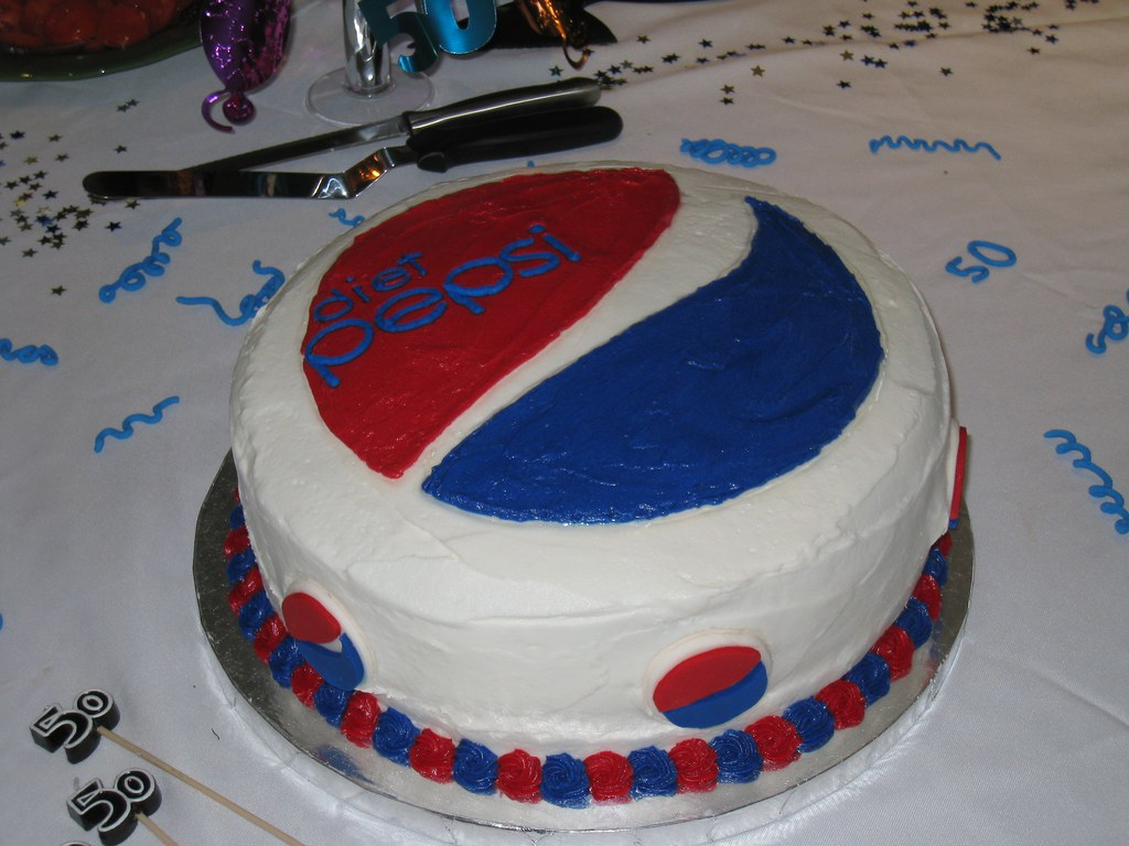 Diet Pepsi Cake Funny Theme For Beth S Surprise Party