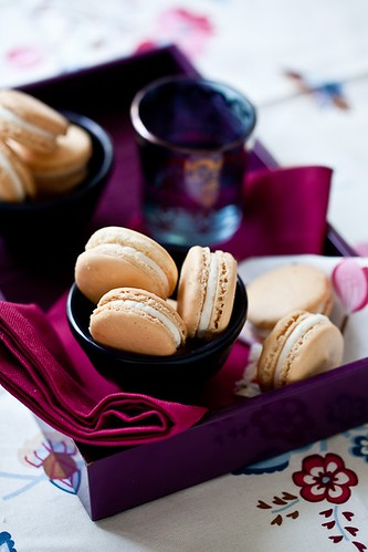 Grapefruit Macarons With Anise Buttercream | by tartelette