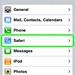 Safari in the Settings app