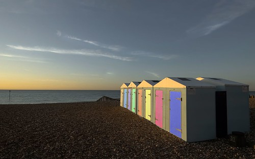 coloured huts | by billposter
