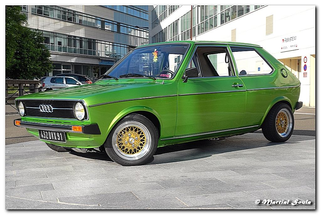 AUDI 50 / Volkswagen Polo 1977 | Elle est passée à Turbo sur ...