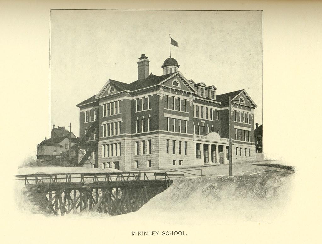 mckinley school  butte  montana   1905