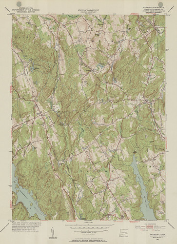 Botsford Quadrangle 1951 - USGS Topographic Map 1:31,680 | by uconnlibrarymagic