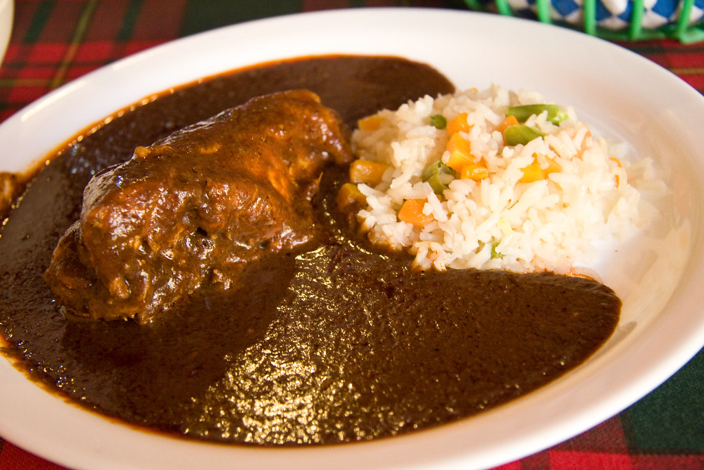 Enchiladas de mole | We Heart It | comida, mexico, and delicious