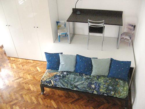 Soluzioni d 39 arredo armadio divano letto soppalco con for Soluzioni d arredo