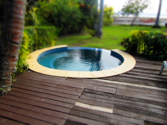Our very own plunge pool and deck flickr photo sharing for Build your own pool deck