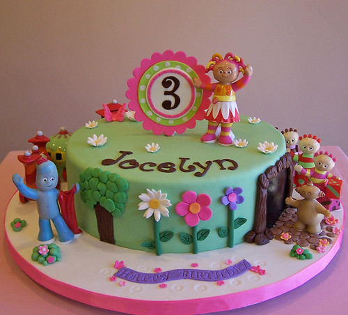 In the night garden cake toys are real everything else for In the night garden cakes designs
