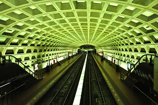 The Amazing Vaulted Ceiling of the Washington Metro, Washington DC | by Evelyn Proimos