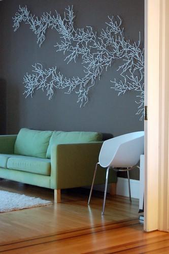 D coration murale salle a manger - Algue vitra ...