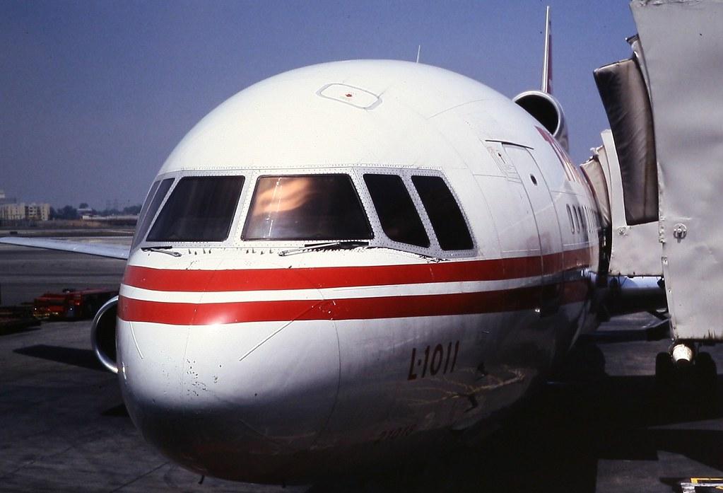 Trans World Airlines (TWA) Lockheed L1011 Tristar nose sec ...