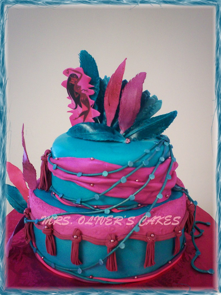 Belly Dance Party This cake was created for a birthday ...