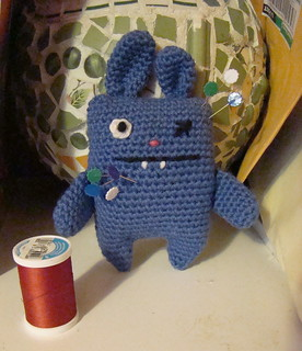 Day 1: Ugly Bunny pincushion | by sukigirl74