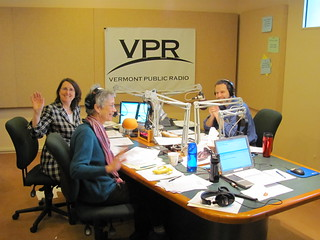 Hi from Robin, Franny and Mitch | by Vermont Public Radio