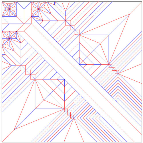 Dragonfly Origami Crease Pattern - 244.4KB