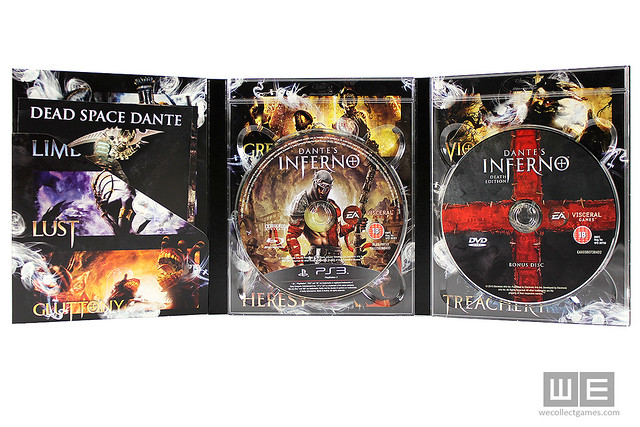 Dante's inferno death edition for europe collectors edition forums.