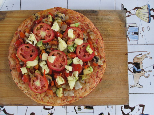 Vegan Pizza | by veganbackpacker