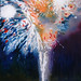 Fountain (2010) 60 x 70 inches. Oil on canvas