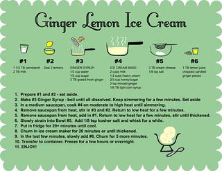 Ginger ice cream recipe | by lili.chin