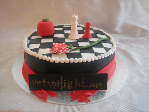 Chess Themed Birthday Cake