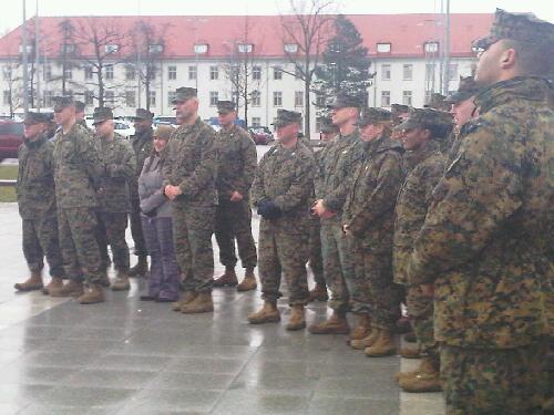 Marines participate in 2010 unity walk at panzer kaserne flickr - Boblingen mobel ...