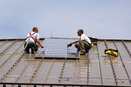 Fort Dix solar panels | by U.S. Army Environmental Command