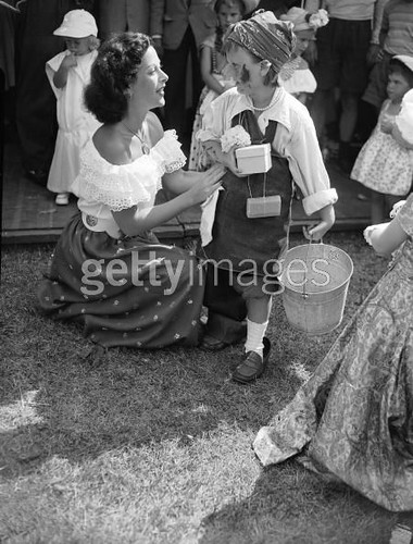 Hedy Lamarr And Child Austrian Born American Actress And C Flickr