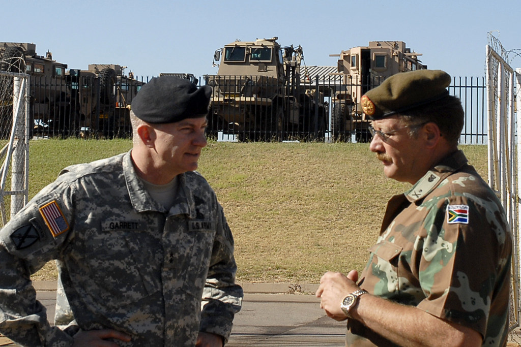 us south africa military relationship