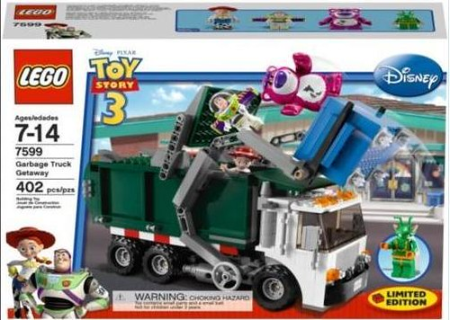 Lego Toy 3 : Lego toy story just box the