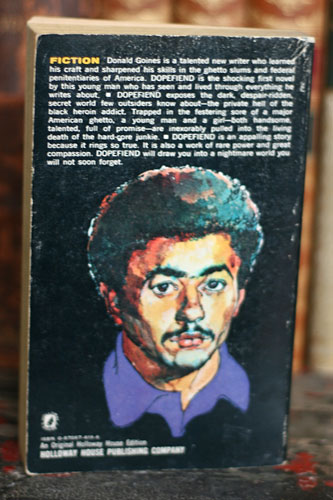 Dopefiend, by Donald Goines: Back cover | swamprabbitbooks ...