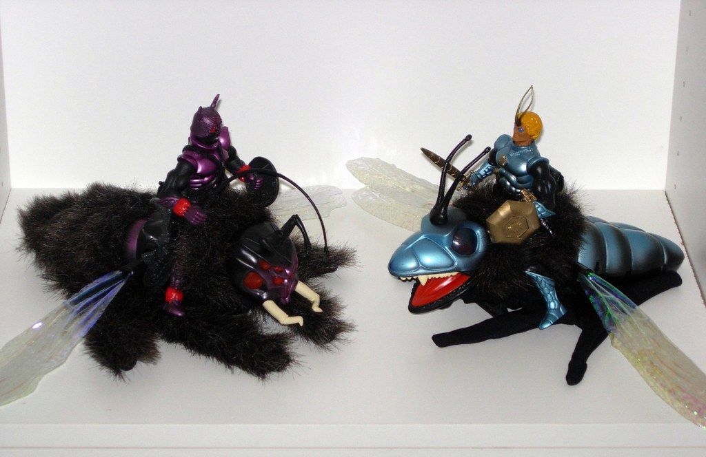 Cool Bug Toys : Sectaurs one of the cool things about was