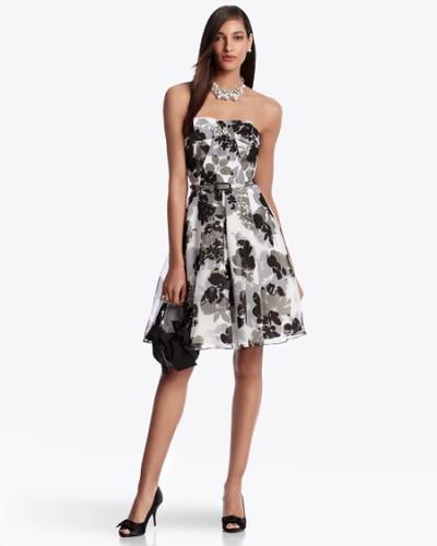 White House Black Market Floral Dress Coquette Events Flickr