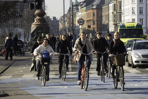 Cycling in Copenhagen2 | by Mikael Colville-Andersen