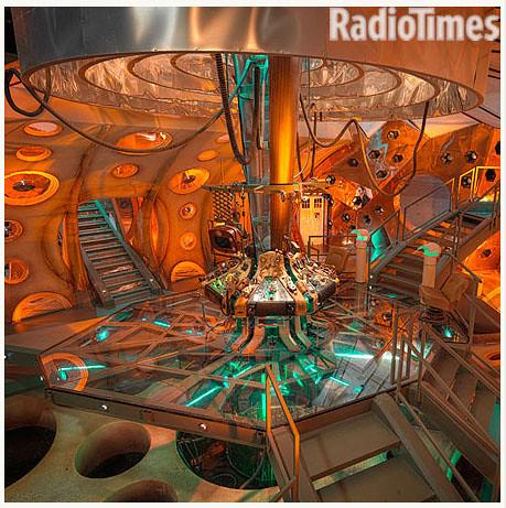 New Tardis Interior 2010 Console Room 11th Doctor Matt