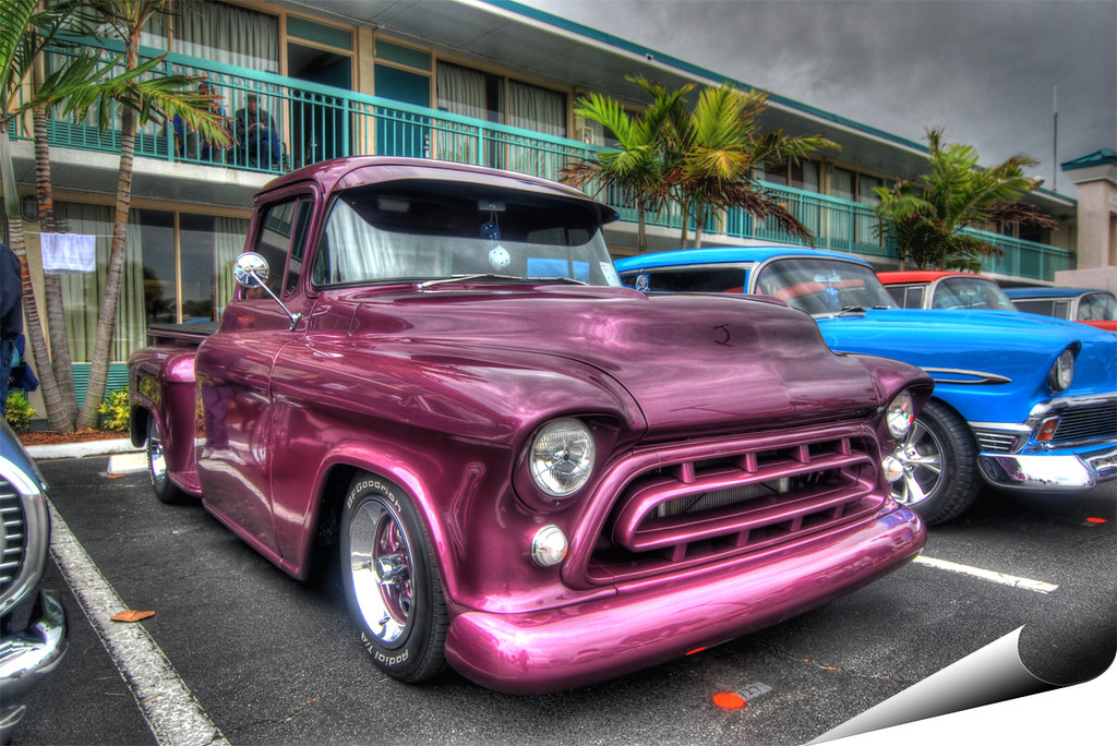 57 Chevy truck | Photographed last month at Eckler's ...