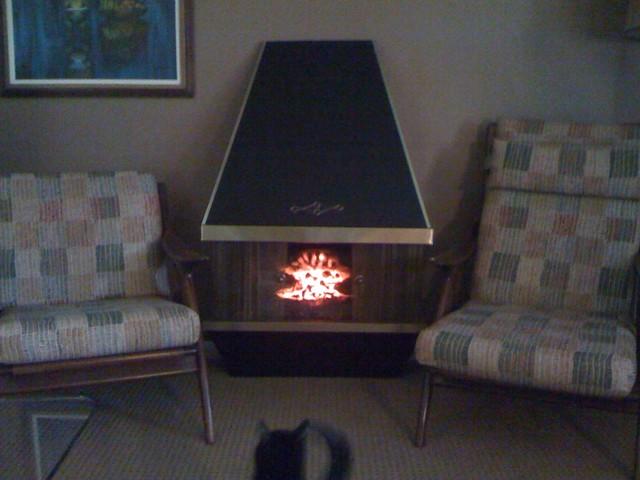 Vintage Electric Fireplace | Konajojo | Flickr