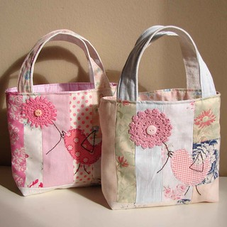 Bird totes | by Roxy Creations