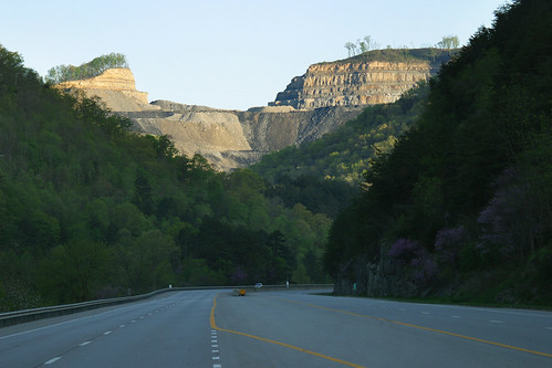 Mountaintop Removal Mine Site above Route 23 in Pike County, Kentucky | by iLoveMountains.org