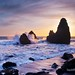 California Sunset - Rodeo Beach, (Golden Gate Recreation Area) California
