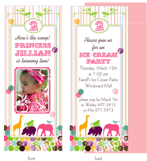 circus animals bookmark invitation angela flickr