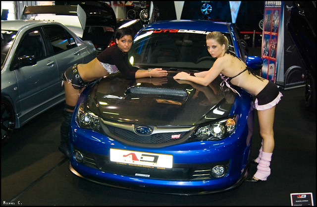 Car Show Sexy Girls Subaru Impreza Michael C Flickr