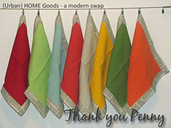 { Urban } HOME Goods - a modern swap | by Sew-Fantastic