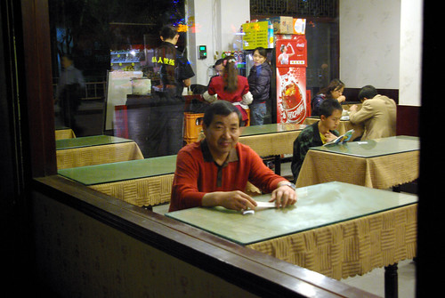Late Night Restaurant, Yunnan China | by The Hungry Cyclist